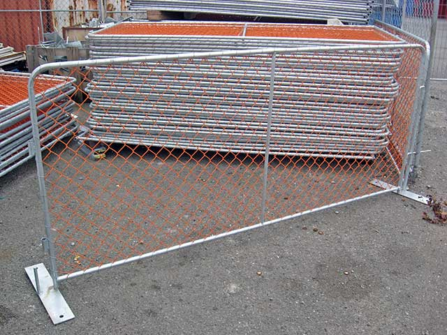 Site Safe Barriers W: 2.5m H: 1.1m