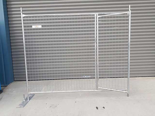 Temp Fence Pedestrian Gate panel