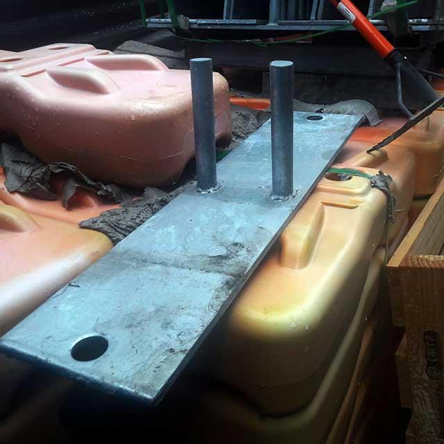 Steel Feet Heavy Duty for Temp fence panels